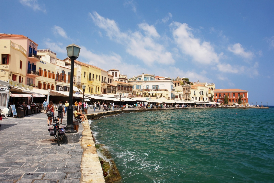 'View of the old port of Chania, Crete' - Chania